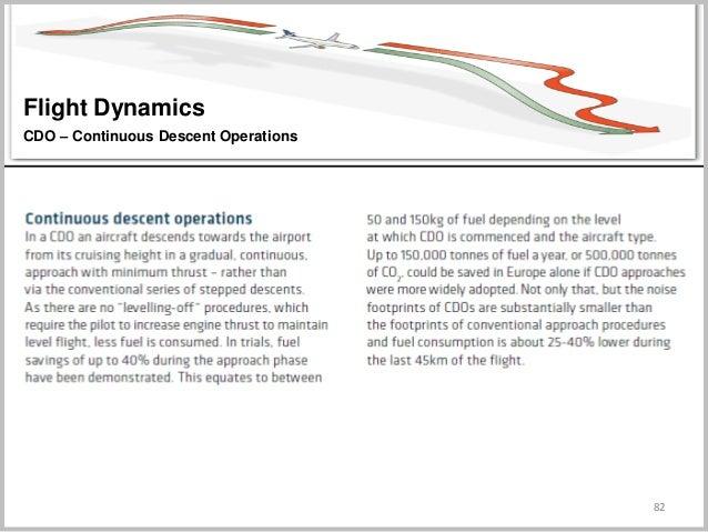 82 Flight Dynamics CDO – Continuous Descent Operations