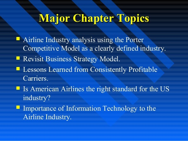 american airlines strategy analysis The strategy is paying off: in the past two years, us airlines made a record   american airlines ceo doug parker rejected the notion that.