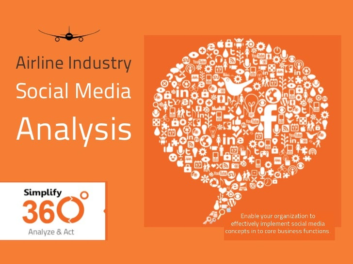 Airline IndustrySocial MediaAnalysis                   © 2012 Simplify360