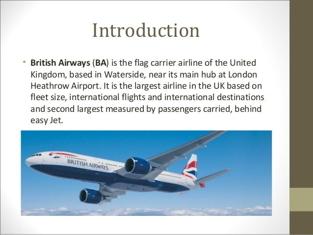 E Buniess Ppt On Airline Sector With 7cs