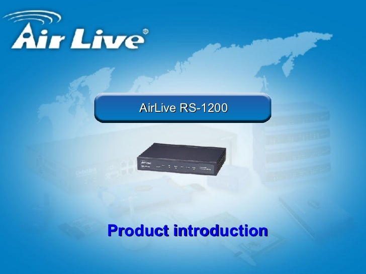 DRIVERS UPDATE: AIRLIVE RS-2000