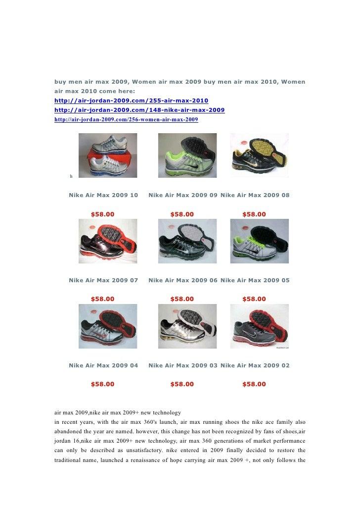 d26b23b5e3bd Air Max 2009 Buy Air Max 2009 Only 58 Usd
