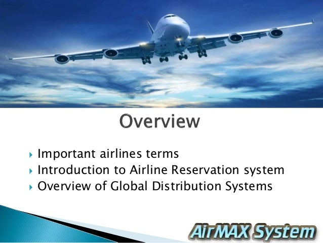 airline reservation system chapter 1 The early airline reservation system projects  section of this chapter airline reservation systems  (1) airline reservation systems.
