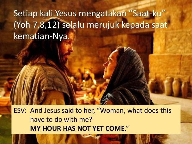 """5 Tetapi ibu Yesus berkata kepada pelayan-pelayan: """"Apa yang dikatakan kepadamu, buatlah itu!"""""""
