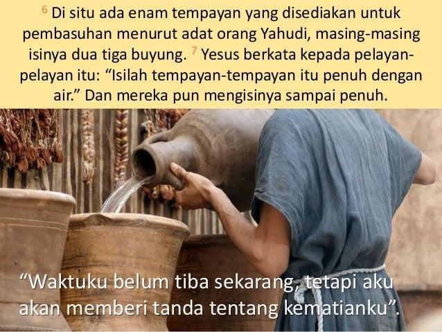 """MATIUS 26:27-28 Sesudah itu Ia mengambil cawan, mengucap syukur lalu memberikannya kepada mereka dan berkata: """"Minumlah, k..."""