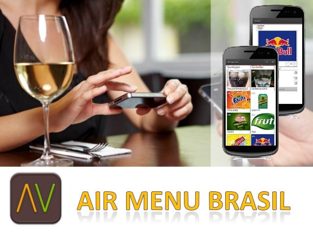 • O Air Menu é uma  aplicação via WEB  que     permite   que  clientes possam fazer  seu pedidos, chamar o  garçom e pedir...