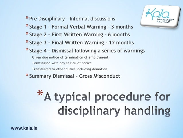 disciplinary procedures The law school's disciplinary procedures follow without variation the procedures described in the student manual section on university policies and regulations.