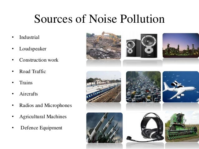 causes of noise pollution This page has links to clean air act section that covers noise pollution in title iv, and information about epa's activities as well as frequent questions.