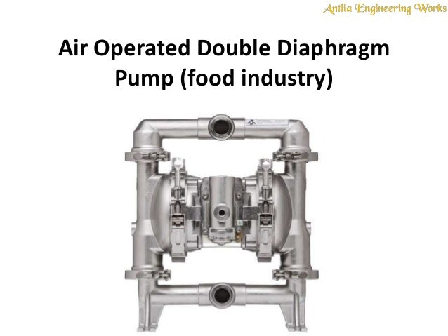Air Operated Double Diaphragm Pump Food Industry