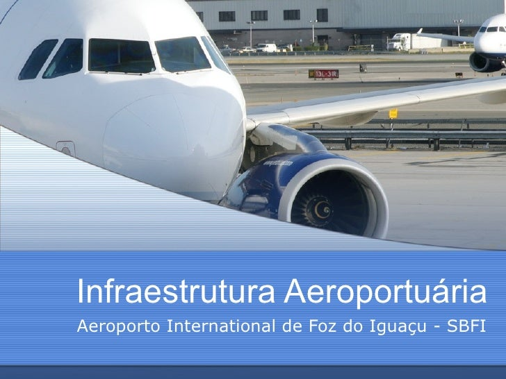 Infraestrutura Aeroportuária Aeroporto International de Foz do Iguaçu - SBFI