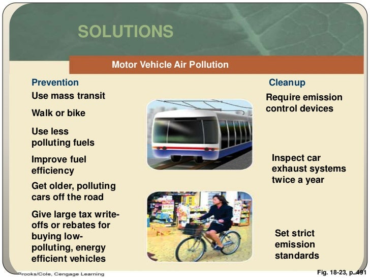 solution for air pollution Follow these tips every day to reduce pollution:  you can also take steps to  minimize your exposure to air pollution and protection your.
