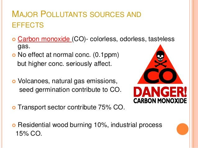  Hydrocarbons (HC) – these include methane, ethylene,  acetylene, terpenes etc. Sources include coal fields, natural fir...
