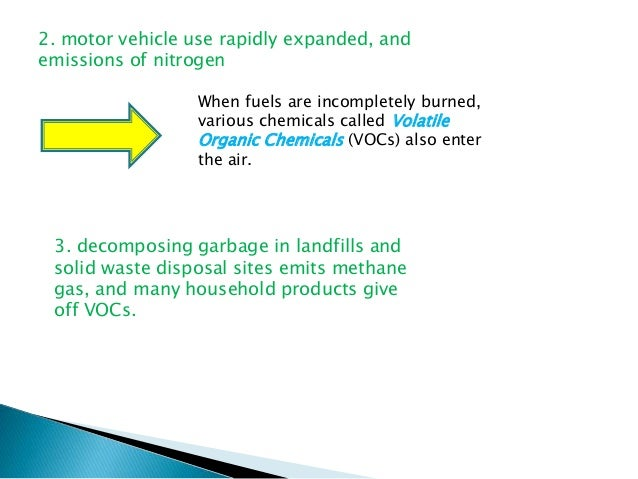 Air pollution causes and effects for How to tell if garbage disposal motor is burned out