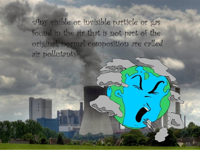 Air Pollution In Coal And Natural Gas