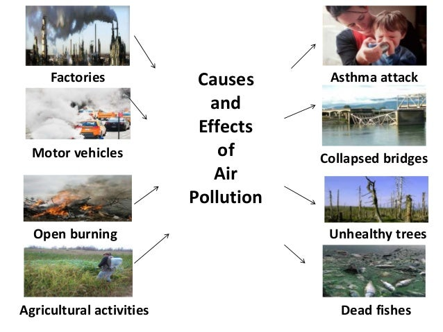 write about air pollution