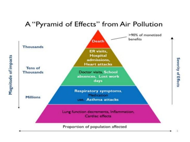 enviromental effects of air pollution and Of pollution, their effects on our environment and the various measures that can be taken to air pollution is a result of industrial and certain domestic activity.