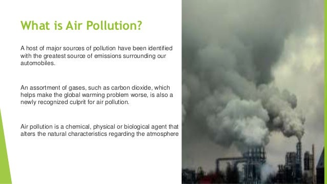 air and water pollution paper 2 Air pollution allergens & irritants cigarette water pollution is any contamination of water with chemicals or other foreign substances that are detrimental to.