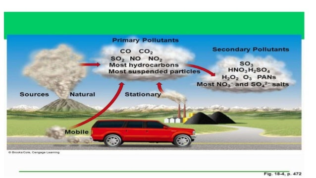 The impact of automobile emission on environmental pollution