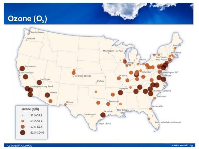 Ozone (O3) CLEAN AIR COUNCIL www.cleanair.org