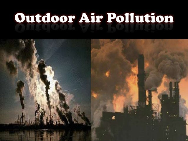 outdoor air pollutant