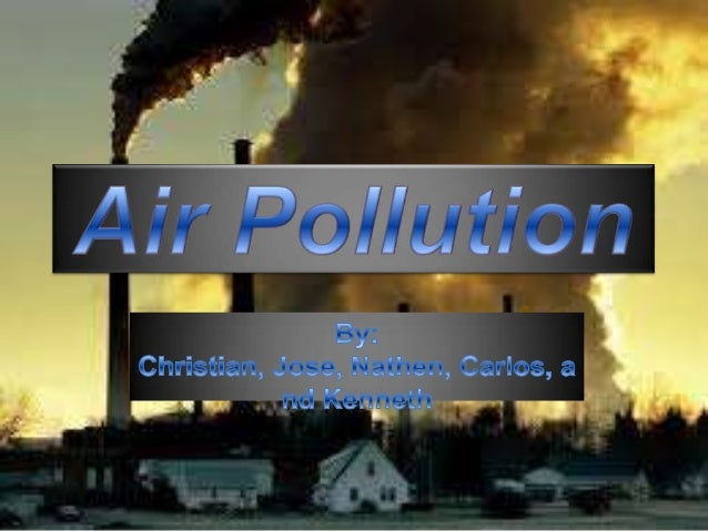 What Causes Air PollutionNitrogen oxides and carbon monoxidesenter the atmosphere and cause airpollution. Some other cause...