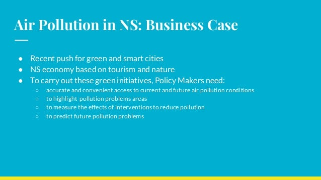 Air Pollution in Nova Scotia: Analysis and Predictions Slide 3
