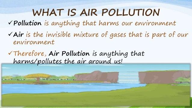 powerpoint presentation on pollution