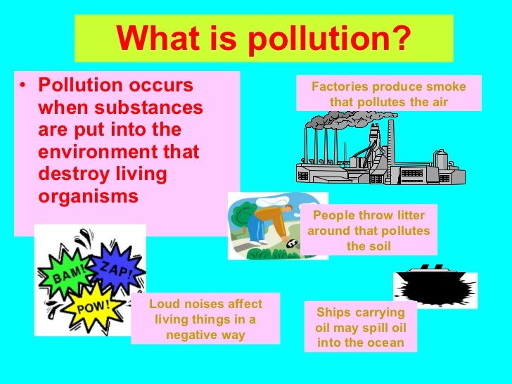Essay on water pollution for class 6