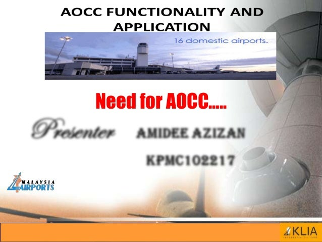 Need for AOCC…..
