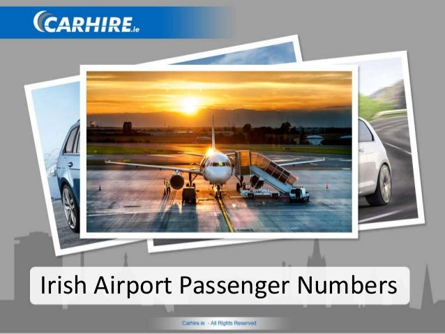 Irish Airport Passenger Numbers