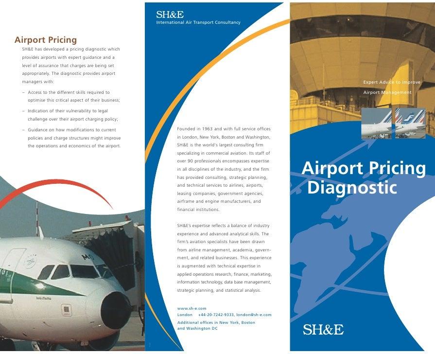 brochure design pricing - airport pricing brochure