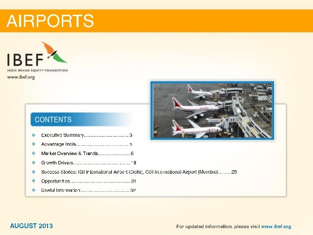 india   airports sector report august 2013