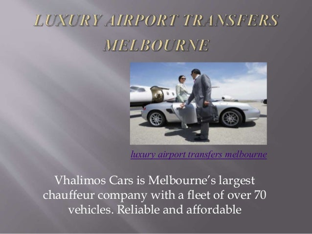 Vhalimos Cars is Melbourne's largest chauffeur company with a fleet of over 70 vehicles. Reliable and affordable luxury ai...