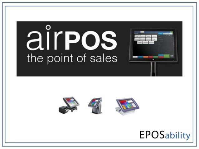 Before you are able to begin sales you must            be an assigned user to the EPOS system as            seen in the im...