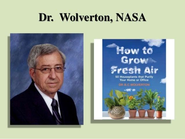 Dr. Wolverton, NASA