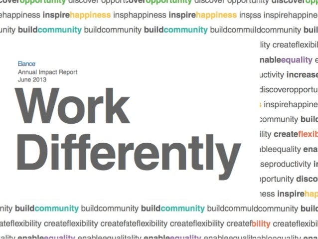 """Why """"Work Differently""""?"""