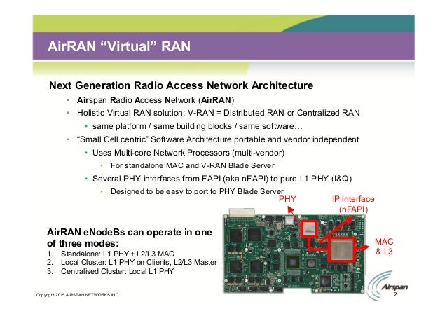 Airspan: Network Densification using Outdoor and Indoor