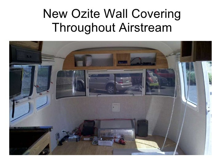 34' Airstream Classic Complete Remodel