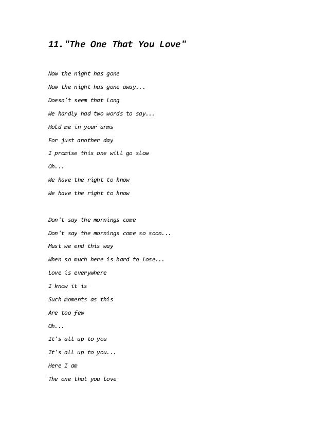 Lyric if you go away lyrics : Air supply lyrics