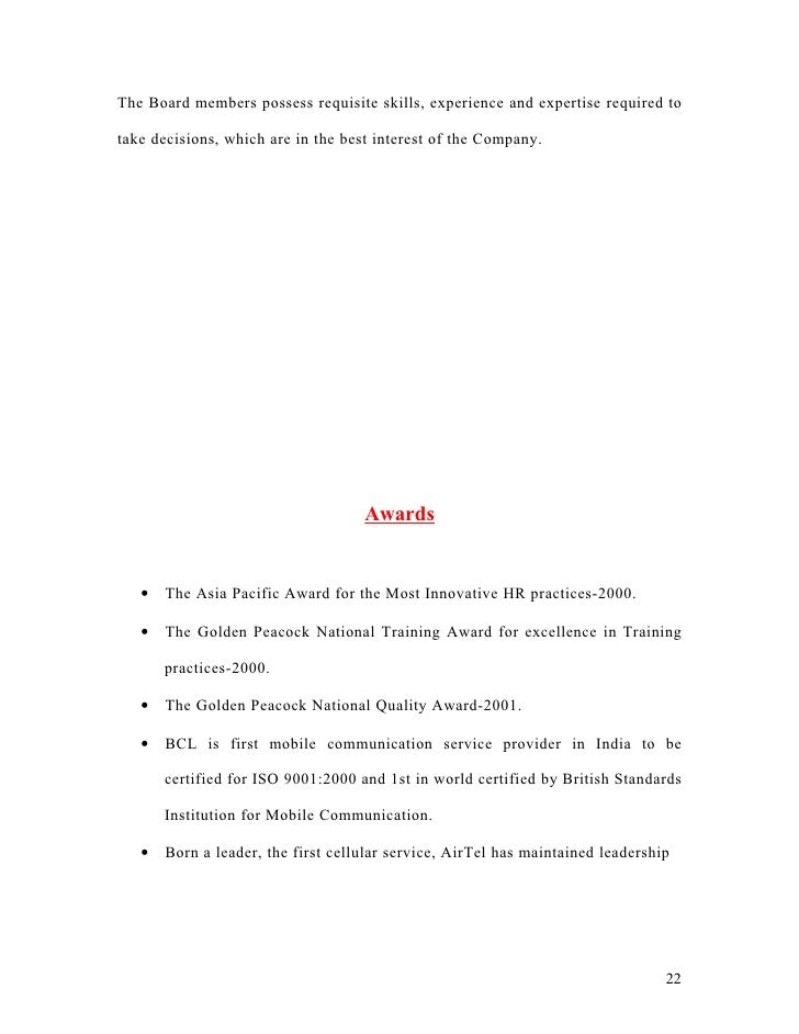 airtel essay 3 Free essay: economics assignment  airtel oligopoly airtel oligopoly 3534 words sep 21st,  7p's of airtel 708 words | 3 pages.