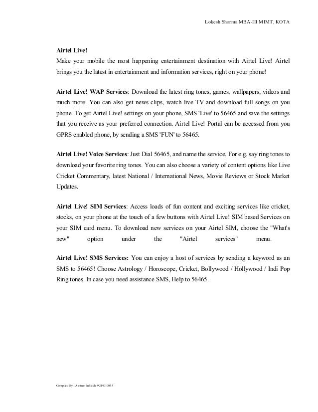 Bharti Airtel - Performance