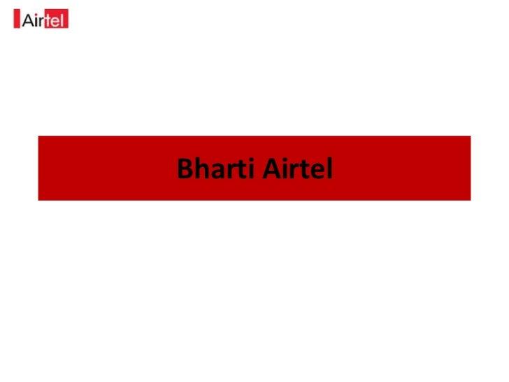 BhartiAirtel<br />