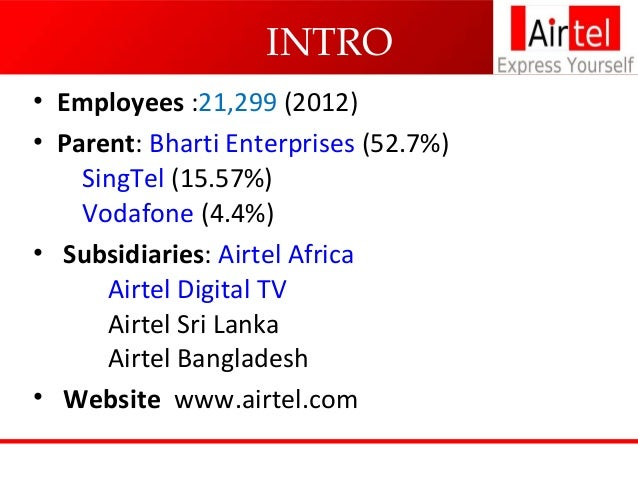 industry profile airtel Get airtel prepaid & postpaid mobile services to explore the world with easy postpaid bill payment, instant online prepaid mobile recharge and much more.