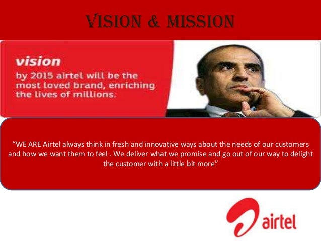 Vision and mission of aircel company