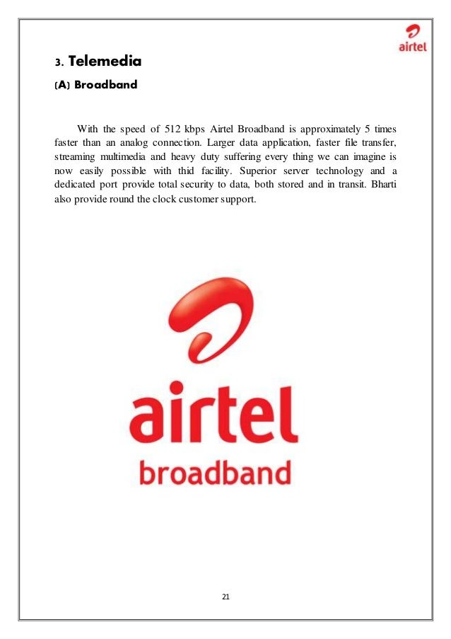 project report on airtel Are you looking for project report brand image of airtel  get details of project report brand image of airtelwe collected most searched pages list related with project report brand image of airtel and more about it.