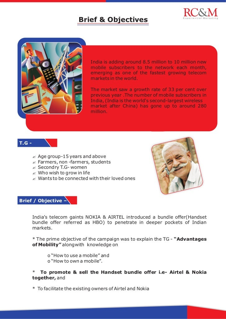 Brief & Objectives                             Experiential Marketing                                   India is adding ar...