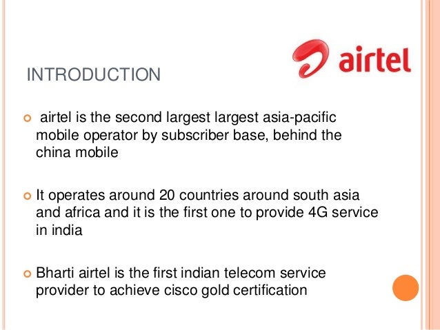 airtel introduction Update: owing to complains and pressure from all sides, airtel has postponed the introduction of voip packs bharti airtel previously announced that it would start charging for voip (voice over internet protocol) calls and today, via a pr, they've revealed why they are charging separately for the voip data.