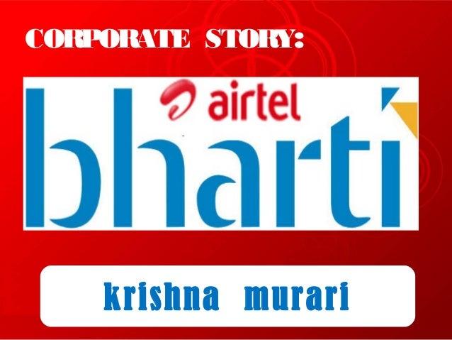 CORPORATE STORY:krishna murari