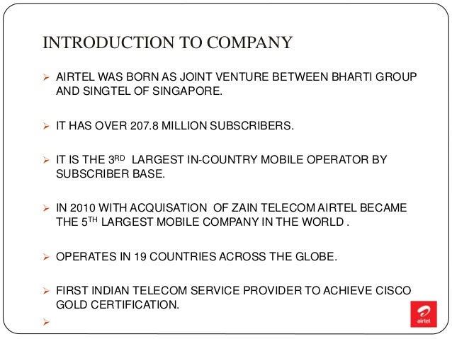 Airtel re branding Slide 3