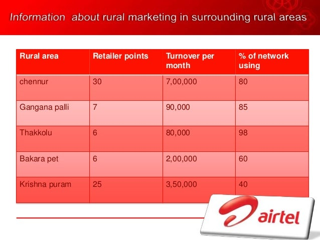 difference between aircel and airtel marketing strategy Which mobile network provider is better, vodafone or i think they are cheapest along with aircel airtel is all about marketing and there is no substance in.